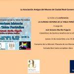 José Antonio Murillo Pulgarín contará este jueves en la Merced 'La curiosa historia de la Tabla Periódica'