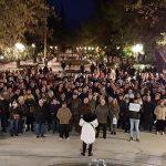 Unas 400 personas se concentran contra la subida del IBI en Puertollano