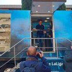 El exportero del Real Madrid César Sánchez abre el espacio Movistar LaLiga en Ciudad Real