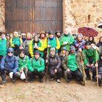 De ruta por el Castillo de Montizón con el Club Pozo Norte de Puertollano