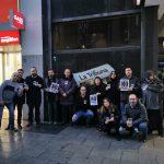 Ciudad Real: Los periodistas de La Tribuna se concentran vestidos de negro y rehúsan firmar piezas en demanda de un convenio digno