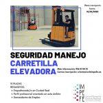 Ciudad Real: El IMPEFE abre el plazo de inscripción para un curso de seguridad en el manejo de carretillas elevadoras