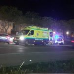 Aparatoso accidente en la Ronda del Parque de Ciudad Real: El conductor triplicó la tasa de alcohol