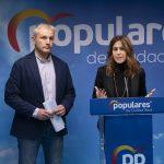 Romero y Callejas apelan a la moderación frente a un Pedro Sánchez «entregado» a Podemos y los independentistas, y a Cs y VOX, «empeñados en restar»