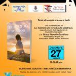 Ciuad Real: El Museo del Quijote, Biblioteca Cervantina, acoge este viernes un recital poético y la presentación del libro 'Buscando sueños' de Elisa Toledo