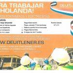 Puertollano: Una empresa busca fontaneros y electricistas dispuestos a trabajar al menos durante cuatro meses en Holanda