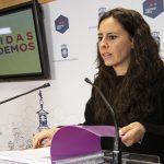 """Cuando Pilar Zamora pidió un """"segundo tiempo"""", Unidas Podemos """"entendió que no lo hacía para asfaltar calles"""""""