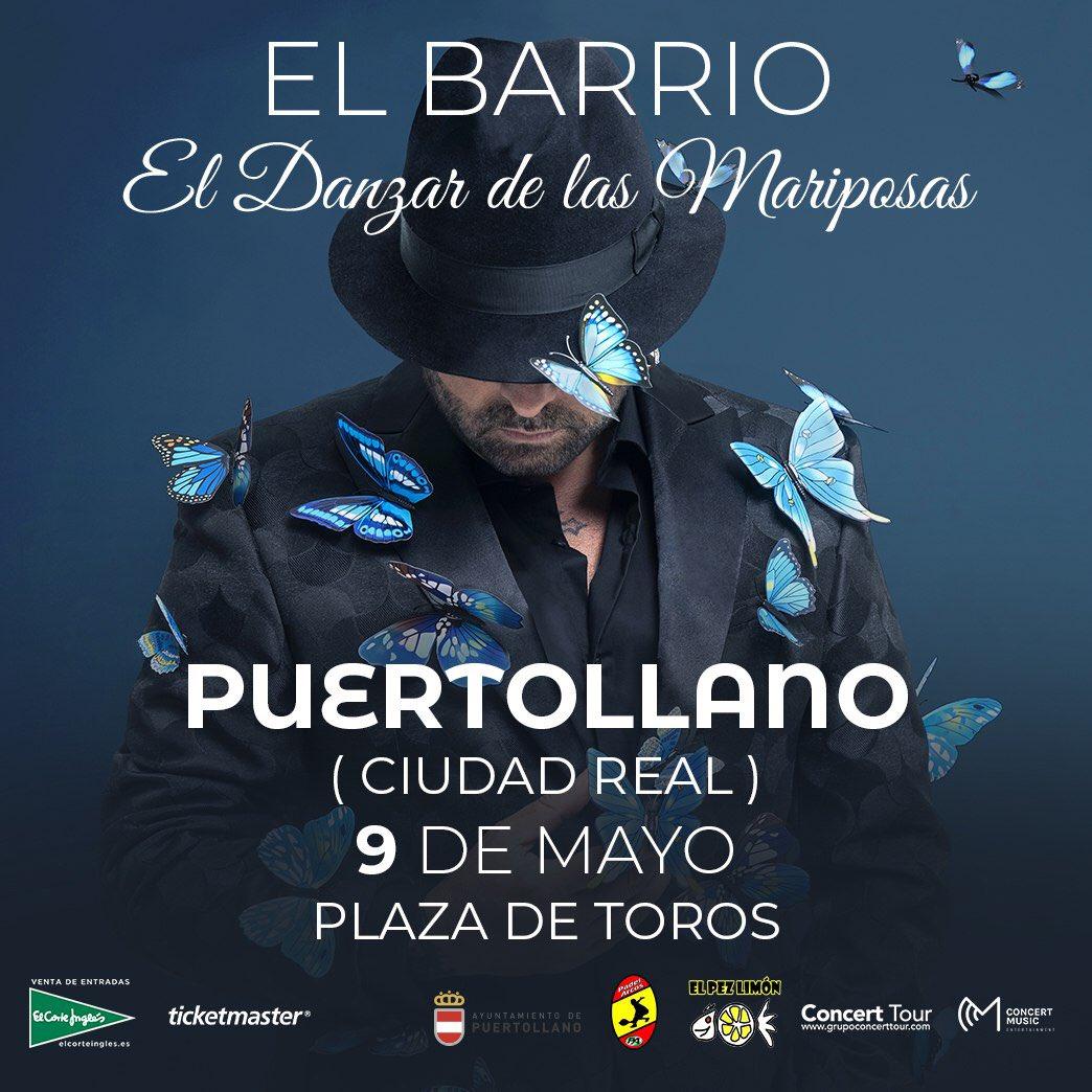 El Barrio llegará a Puertollano el 9 de mayo con «El danzar