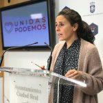 """Ciudad Real: Unidas Podemos recuerda al PSOE que """"está a tiempo"""" de dejar a un lado las políticas """"reaccionarias"""" de Cs"""