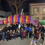 Las Casas despide los carnavales con la quema de una sardina de siete metros