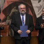 Ángel Romera enarbola la memoria del autor ciudadrealeño Félix Mejía en su discurso de ingreso en el Instituto de Estudios Manchegos