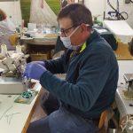 Las empresas de Viso del Marqués se vuelcan para confeccionar mascarillas para trabajadores y mayores