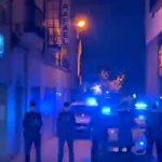 Puertollano: Destellos azules para levantar el ánimo del personal sanitario