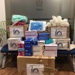 El Colegio de Médicos de Ciudad Real hace entrega al Hospital General de material de protección recogido en la sede colegial