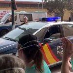 Histórica visita de la Policía Nacional a los sanitarios de Puertollano: «Vuestro esfuerzo es el más importante»