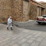 El Ayuntamiento de Porzuna ya ha comenzado a desinfectar las calles de la localidad