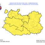 Alerta amarilla por fuertes rachas de viento de hasta 80 kilómetros/hora en Ciudad Real